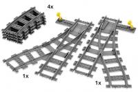 Lego City 7895 - Weichen (Grau)