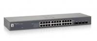 LevelOne GEU-2429 Netzwerk Switch (Schwarz)
