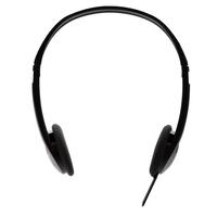 V7 Leichte Stereo-Kopfhörer (Schwarz)