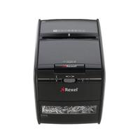 Rexel Auto+ 60X Aktenvernichter Partikelschnitt (Schwarz)