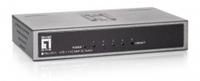LevelOne FEU-0511 Netzwerk Switch (Schwarz)