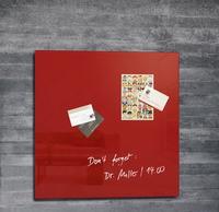 Sigel GL114 Anschlagtafel Magnetisch (Rot)
