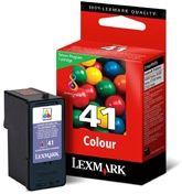 Lexmark #41 Color Return Program Print Cartridge
