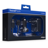 Bigben Interactive Travel Pack (Schwarz)