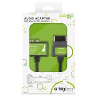Bigben Interactive Audio-Headset-Adapter For Xbox360 (Schwarz)