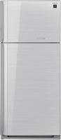 Sharp SJ-GC700VSL Kühl-Gefrierschrank (Silber)