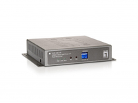 LevelOne HVE-6601R Audio- / Video-Extender (Grau)