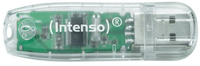 Intenso Rainbow Line 32GB 32GB USB 2.0 Transparent USB-Stick (Transparent)