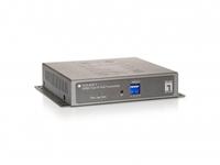 LevelOne HVE-6501T Audio- / Video-Extender (Schwarz)