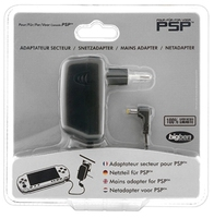 Bigben Interactive AC Adapter Power Supply for Sony PSP (Schwarz)