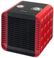 Bestron ACH1500R Elektrische Raumheizung (Schwarz, Rot)