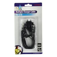 HQ P.SUP.USB500 Ladegeräte für Mobilgerät (Schwarz)
