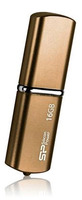 Silicon Power LuxMini 720 4GB 4GB USB 2.0 Bronze USB-Stick (Bronze)