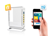 Sitecom WLR-3100 N300 Wi-Fi Router X3 (Weiß)
