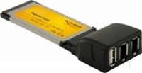 DeLOCK Express Card to 1x USB 2.0 / 2 x FireWire A