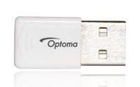 Optoma SP.8JQ02GC01 Netzwerkkarte/-adapter (Weiß)
