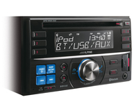 Alpine CDE-W235BT Auto-CD/DVD Tuner (Mehrfarbig)