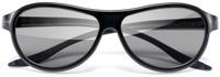 LG AG-F310 stereoscopische 3D-brille/Fernglas (Schwarz)