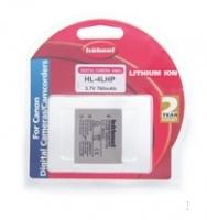 Hahnel HL-4LHP for Canon Digital Camera Lithium-Ion (Li-Ion) 760mAh 3.7V Wiederaufladbare Batterie