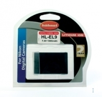 Hahnel HL-EL9 Battery for Nikon Digital Camera