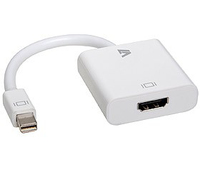 V7 Mini DisplayPort - HDMI Adapter (Weiß)