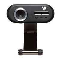 V7 Professional HD Webcam 720P (Schwarz, Silber)