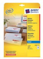 Avery J4791-25 Druckeretikette (Weiß)