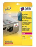 Avery L6141-20 selbstklebende Etikette (Weiß)