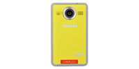 Toshiba Camileo Clip Bright Yellow (Gelb)