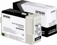 Epson SJIC20P(K) Black Tintenpatrone für TM-C3400BK