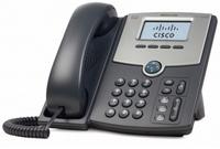 Cisco SPA512G IP-Telefon (Schwarz, Silber)