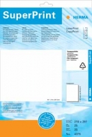 Herma Labels film transp. 70x37 SuperPrint (transparent)