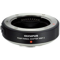 Olympus MMF-3 (Schwarz, Silber)