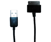 Cellular Line TABLET USB CABLE (Schwarz)