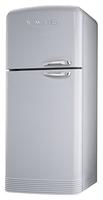 Smeg FAB50XS Kühl-Gefrierschrank (Silber)