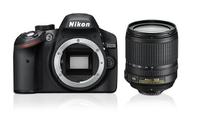 Nikon D3200 + AF-S DX NIKKOR 18-105mm (Schwarz)