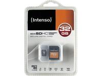 Intenso MicroSDHC 32GB (Schwarz)
