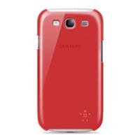 Belkin Shield Sheer Samsung Galaxy S III (Rot)