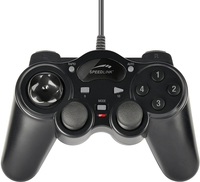 Speed-Link THUNDERSTRIKE Gamepad (Schwarz)