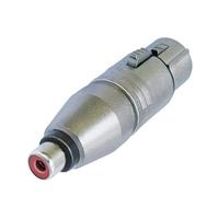 Neutrik NA2FPMF Kabeladapter (Silber)