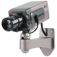 König SEC-DUMMYCAM40 Sicherheit Kameras (Schwarz, Grau)