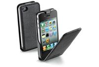 Cellular Line Flap Essential For iPhone 4/4S (Schwarz)