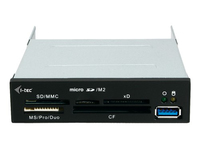 iTEC USB3ALLI-B Kartenleser (Schwarz)