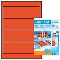 Herma File Labels red 192x61 SuperPrint 400 pcs. (Rot)