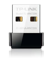 TP-LINK 150Mbps Wireless N Nano USB (Schwarz)