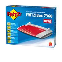 AVM FRITZ!Box 7360 Edition A/CH (Grau, Rot)