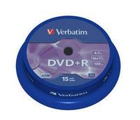 Verbatim DVD+R 16X 4.7GB 15pk