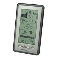 Technoline WS 9040 IT Wetterstation (Schwarz, Silber)
