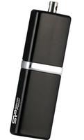 Silicon Power LuxMini 710 16GB 16GB USB 2.0 Schwarz USB-Stick (Schwarz)