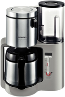 Siemens TC86505 Kaffeemaschine (Schwarz, Grau, Edelstahl)